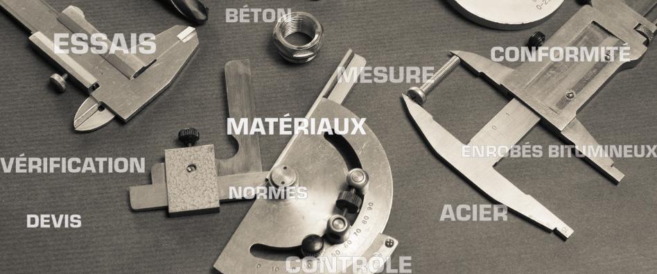 Programme : Contrôle des matériaux