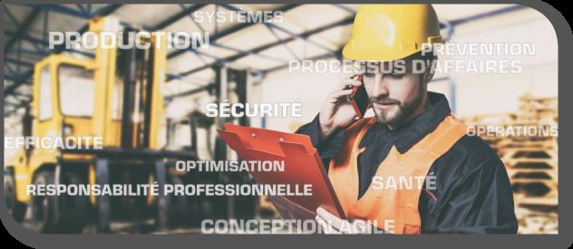 Conception, productivité et sécurité