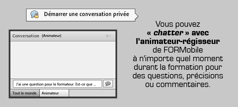 Interaction par écrit